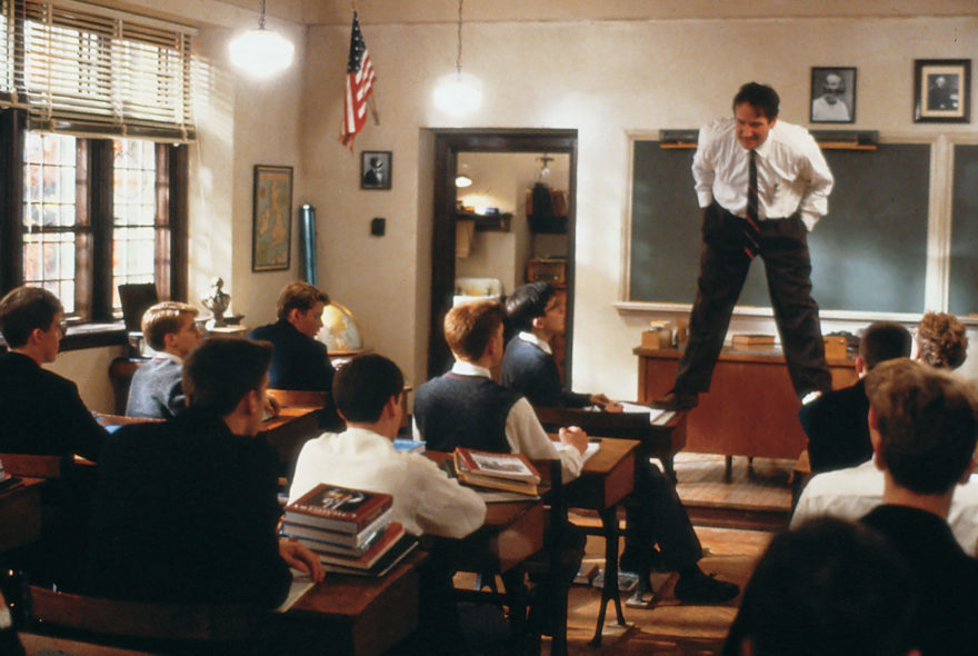 'Dead Poets Society':  10 rules NOT to follow if you wish to survive teaching (Pt. 1)